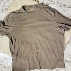 Croft and Barrow mens gray tshirt